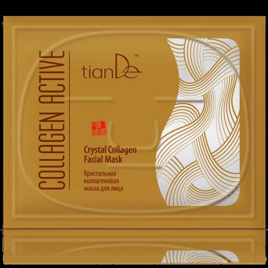 Кристальная коллагеновая маска для лица Collagen Active