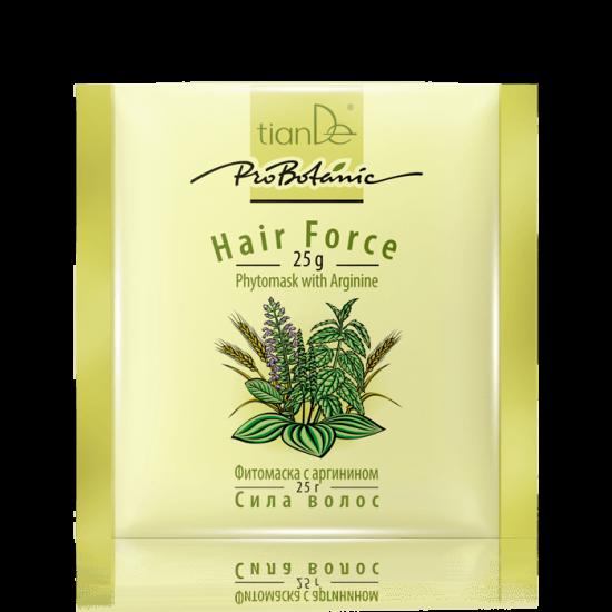 Фитомаска ''Сила волос'' с аргигином Pro Botanic