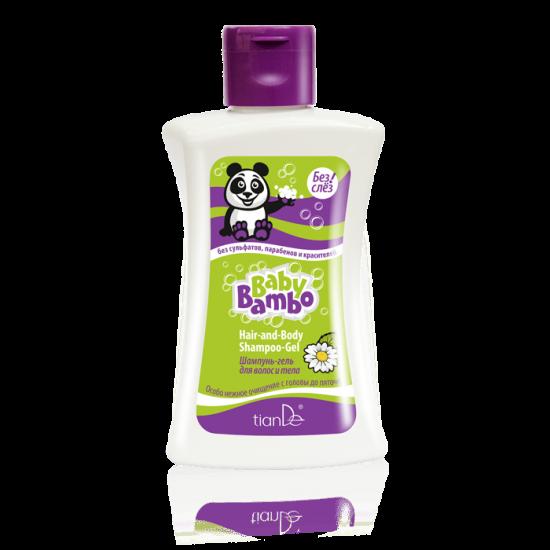 Шампунь-гель для волос и тела Baby Bambo/Бейби Бамбо