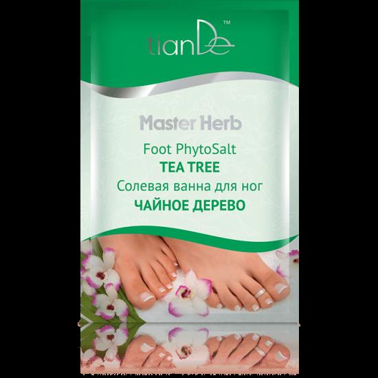 Солевая ванна для ног ''Чайное дерево'' Master Herb