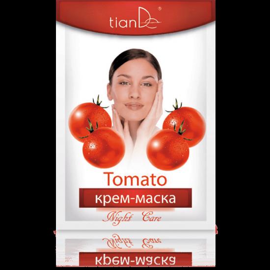 Крем-маска ночная с томатом