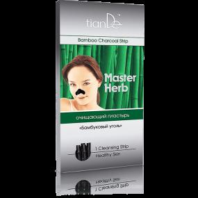 Очищающий пластырь для носа ''Бамбуковый уголь'' Master Herb