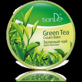 Крем-бальзам для волос ''Зеленый чай''