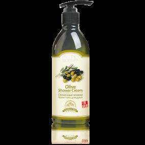 Крем-гель для душа ''Солнечные оливки'' Hainan Tao