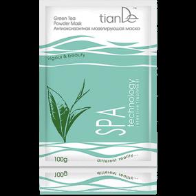 Антиоксидантная моделирующая маска ''Зеленый чай'' SPA technology