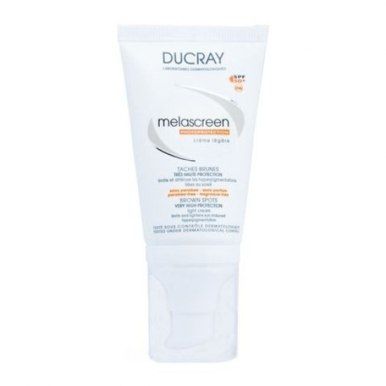 Дюкрэ Меласкрин Легкий крем SPF 50+ Ducray Melascreen Brown spots very high protection
