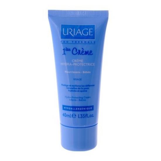 Урьяж Первый Крем Увлажняющий крем для лица для детей и новорожденных Uriage 1-ene Creme Hydra-protecting cream Babies