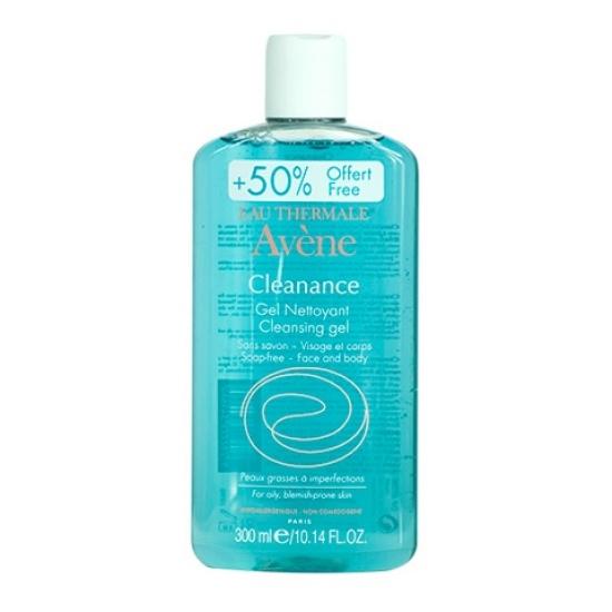 Авен Клинанс Гель очищающий Avene Cleanance soapless gel cleanser 300 мл