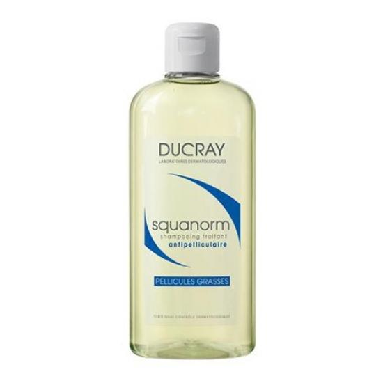 Дюкрэ Скванорм Шампунь от жирной перхоти Ducray Squanorm Shampooing Traitant Antipelliculaire Pellicules Grasses