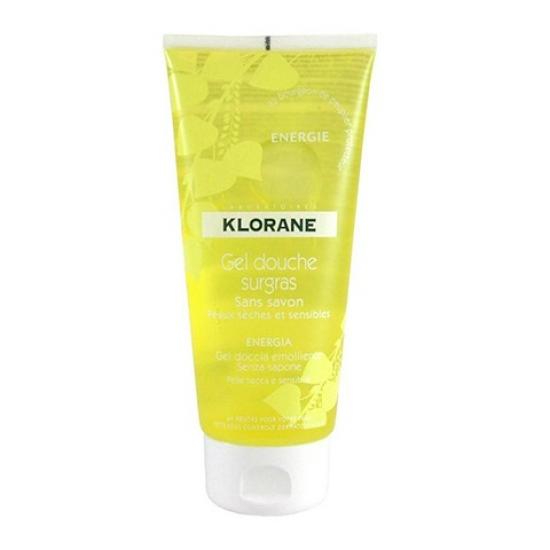 Клоран Гель для душа увлажняющий Тонус Klorane Ultra-rich energy shower gel