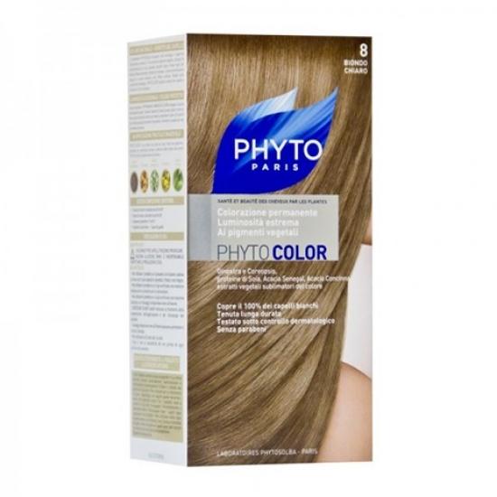 Фито Фитоколор Краска для волос Phyto Phyto Color Permanent coloration8 Светлый блонд