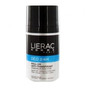 Лиерак Дезодорант 24 часа защиты для мужчин Lierac Non stop freshness antiperspirant roll on