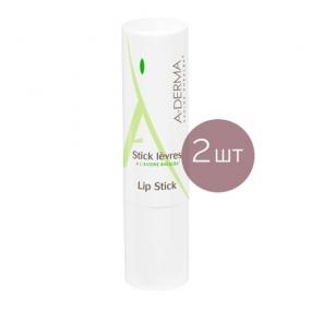 А-Дерма Бальзам для губ (2 штуки) A-Derma Lip Stick