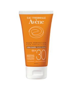 Авен Солнцезащитный Тонирующий крем SPF 30 Avene Solaires Peaux Sensibles Creme Teintee SPF 30