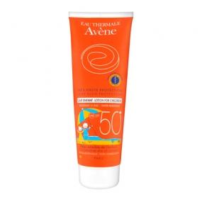 Авен Детское молочко солнцезащитное SPF 50+ Avene Very high protection Lotion spf50 for children 250 мл