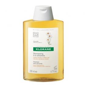 Клоран Шампунь с экстрактом Ромашки Klorane Shampoo with chamomile 200 мл