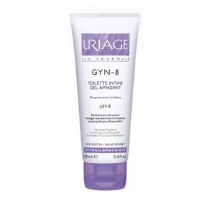 Урьяж Жин -8 Гель для интимной гигиены успокаивающий Uriage Gyn-8 Intimate hygiene protective cleansing gel