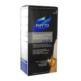 Фито Фитоколор Краска для волос Phyto Phyto Color Permanent coloration4 Шатен