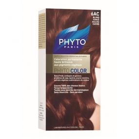 Фито Фитоколор Краска для волос Phyto Phyto Color Permanent coloration6AC Темный блонд медь-красное дерево
