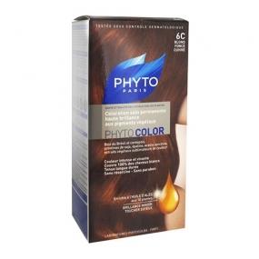 Фито Фитоколор Краска для волос Phyto Phyto Color Permanent coloration6C Темный медный блонд