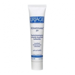Урьяж Кератозан 30 Гель для локализованных утолщений кожи Uriage Keratosane 30 Localized thickened skin callositiesТуба 40 мл