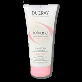 Дюкрэ Иктиан Нежный очищающий крем для лица и тела Ducray Ictyane Gentle cleansing Cream