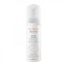 Авен Пенка очищающая для лица и контура глаз Avene mousse nettoyante