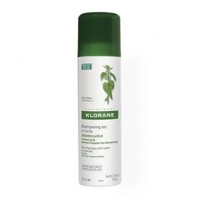 Клоран Шампунь сухой с экстрактом Крапивы Klorane Dry shampoo with nettle 150 мл