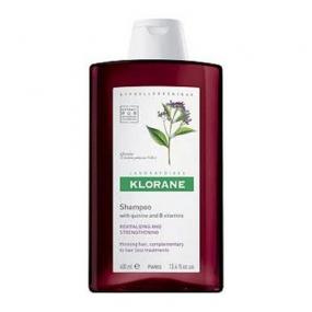 Клоран Шампунь с экстрактом Хинина Klorane Shampoo with quinine and B vitamins 400 мл