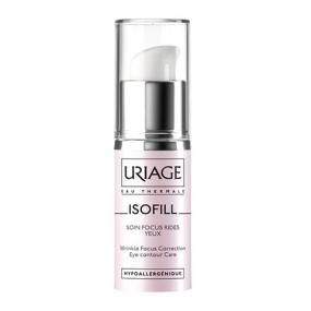Урьяж Изофиль Уход против морщин для кожи контура глаз Uriage Isofill Rich wrinkle focus correction eye contour care