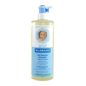 Клоран Бебе Гель пенящийся мягкий для волос и тела Klorane Bebe Gentle Foaming Gel