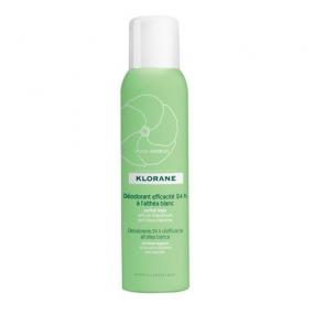 Клоран Дезодорант- спрей 24 часа эффективности с белым алтеем Klorane Spray deodorant 24 effectiveness with white althea