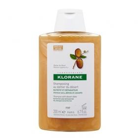 Клоран Шампунь питательный с маслом финика пустынного Klorane Shampoo with Desert Date 200 мл