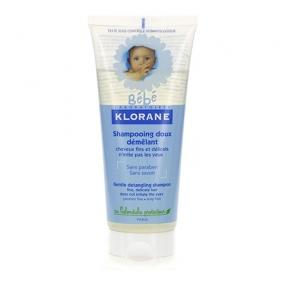 Клоран Бебе Шампунь детский мягкий для легкого расчесывания Klorane Baby Gentle Detangling Shampoo
