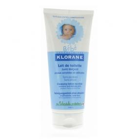 Клоран Бебе Молочко туалетное Klorane Baby Cleansing lotion no-rinse