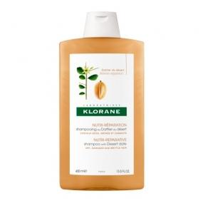 Клоран Шампунь питательный с маслом финика пустынного Klorane Shampoo with Desert Date 400 мл