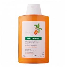 Клоран Шампунь с маслом Манго Klorane Shampoo with mango butter 200 мл