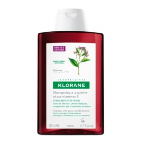 Клоран Шампунь с экстрактом Хинина Klorane Shampoo with quinine and B vitamins 200 мл