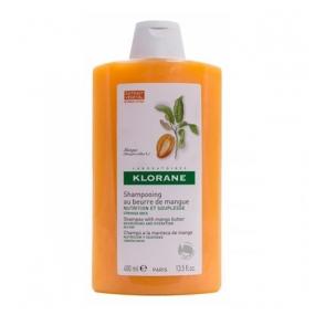 Клоран Шампунь с маслом Манго Klorane Shampoo with mango butter 400 мл