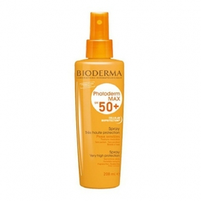 Биодерма Фотодерм MAX Спрей SPF50+ Bioderma Photoderm MAX SPF 50+ sun spray