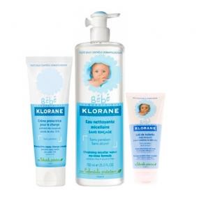 Клоран Бебе Набор Для самых маленьких защитный увлажняющий (3 средства)