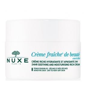 Нюкс Крем Фреш Крем увлажняющий обогащенный Nuxe Creme Fraiche 24 HR Soothing and moisturizing rich cream 50 мл