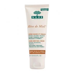 Нюкс Рэв Де Мьель Крем для рук и ногтей Nuxe Reve de Miel Hand and nail cream