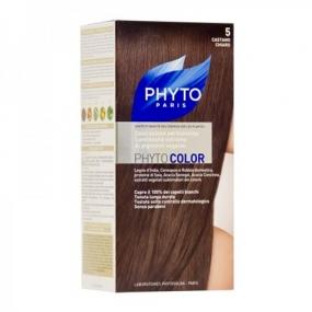 Фито Фитоколор Краска для волос Phyto Phyto Color Permanent coloration5 Светлый шатен