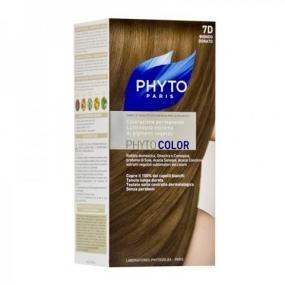Фито Фитоколор Краска для волос Phyto Phyto Color Permanent coloration7D Золотистый блонд