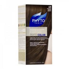 Фито Фитоколор Краска для волос Phyto Phyto Color Permanent coloration4D Светлый золотистый шатен