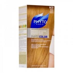 Фито Фитоколор Краска для волос Phyto Phyto Color Permanent coloration8CD Рыжеватый блонд