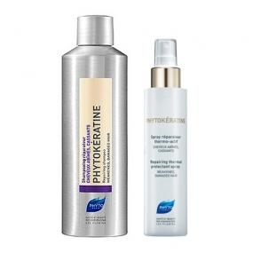 Фито Фитокератин Набор Восстановление волос (2 средства) Phyto Coffret Phytokeratine