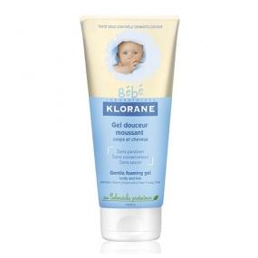 Клоран Бебе Гель пенящийся мягкий для волос и тела Klorane Baby Gentle Foaming Gel
