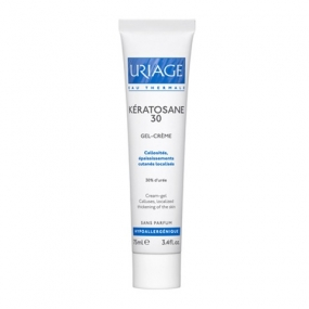 Урьяж Кератозан 30 Гель для локализованных утолщений кожи Uriage Keratosane 30 Localized thickened skin callositiesТуба 75 мл